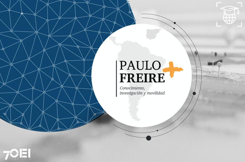 """Convocatoria de becas doctorales de movilidad """"Paulo Freire+"""""""